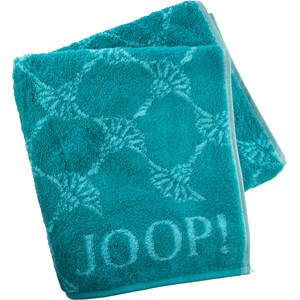 JOOP! - Cornflower - Toalha de mãos turquesa