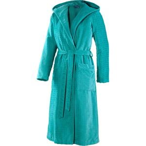 JOOP! - Women - Turquoise Bathrobe with Hood