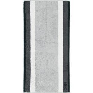 JOOP! - Elegance Stripes - Handtuch Basalt
