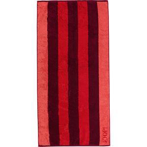 JOOP! - Gala Stripes - Handtuch Mohn