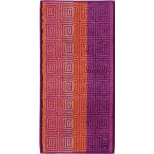 JOOP! - Imperial Striped Tile - Handtuch Raspberry