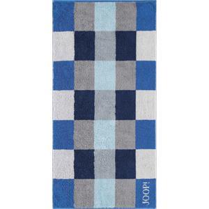 JOOP! - Plaza Squares - Handtuch Azur