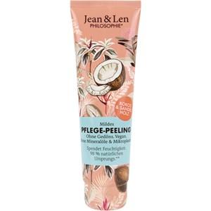 Jean & Len - Feuchtigkeitspflege - Kokos & Sandelholz Pflege-Peeling