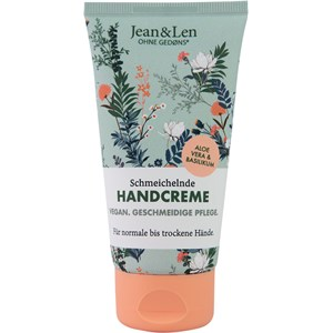 Jean & Len - Hand & Fußpflege - Aloe Vera & Basilikum Handcreme