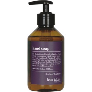 Jean & Len - Hand & Fußpflege - Rhubarb & Raspberry Hand Seife