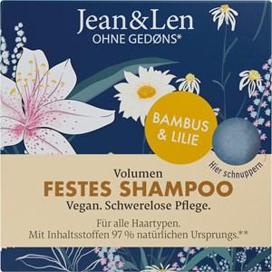 Jean & Len - Shampoo - Volumen Festes Shampoo Bambus & Lilie