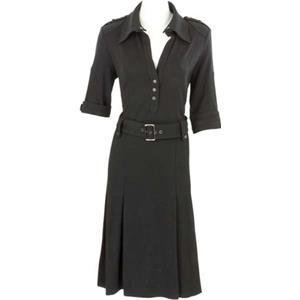 Jean Paul - Kleider - Stoffkleid schwarz