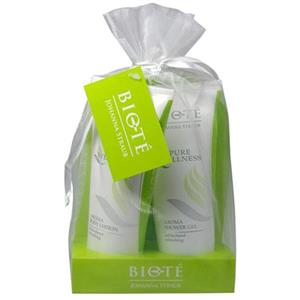 Image of Johanna Straub Cosmetics Pflege Pure Wellness Refreshing Geschenkset Shower Gel 200 ml + Body Lotion 200 ml 1 Stk.