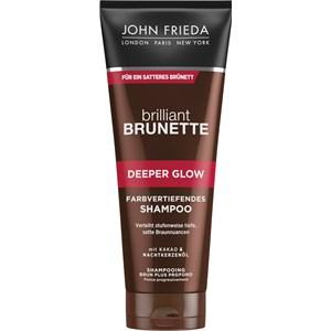 John Frieda - Brilliant Brunette - Deeper Glow Farbvertiefendes Shampoo