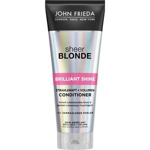 John Frieda - Sheer Blonde - Brilliant Shine Strahlkraft + Volumen Conditioner