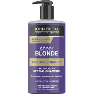 John Frieda - Sheer Blonde - Colour Correct Anti-Gelbstich Spezial-Shampoo