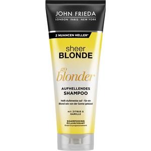 John Frieda - Sheer Blonde - Go Blonder Aufhellendes Shampoo