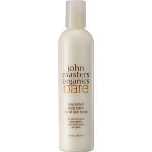 John Masters Organics - Moisturizer - Bare Unscented Body Lotion
