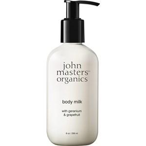 John Masters Organics - Moisturizer - Geranium + Grapefruit Body Lotion