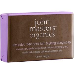 John Masters Organics - Hand care - Lavender, Rose, Geranium & Ylang Ylang Soap
