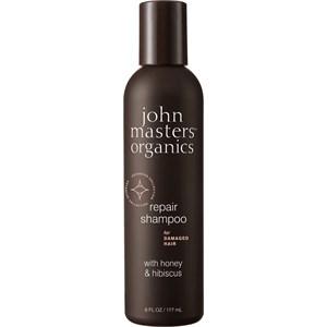 John Masters Organics - Shampoo - Honey & Hibiscus Repair Shampoo