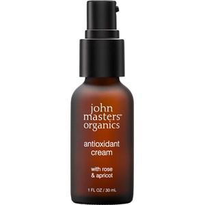 John Masters Organics - Trockene Haut - Antioxidant Cream with Rose & Apricot