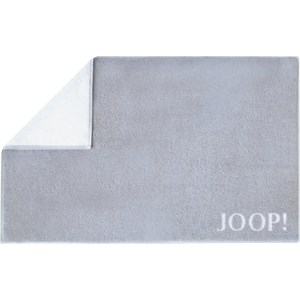 Handtücher Classic Doubleface Badematte Silber/Weiß 50 x 80 cm 1 Stk.