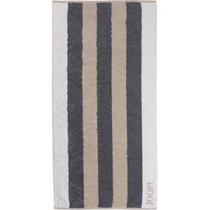 JOOP! Handtücher Gala Stripes Handtuch Stein 50...