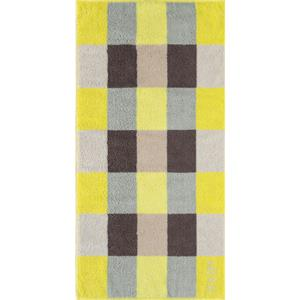Joop - Plaza Squares - Duschtuch Limone