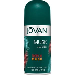 Jovan - Tropical Musk - Deodorant Body Spray