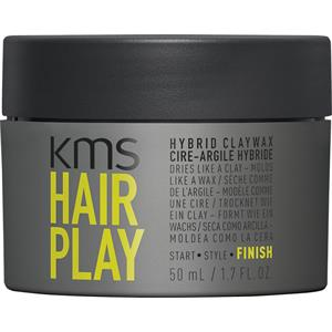 KMS - Hairplay - Hybrid Claywax