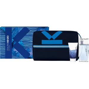 Kenzo Herrendüfte L´EAU KENZO HOMME Geschenkset Eau de Toilette Spray 50 ml + Shower Gel 50 ml + Travel Pouch 1 Stk.
