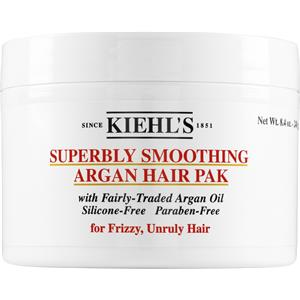 Kiehl's - Behandlungen - Superbly Smoothing Argan Hair Pak