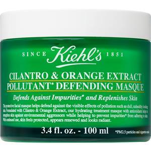 Kiehl's - Gesichtsmasken - Cilantro & Orange Extract Pollutant Defending Masque