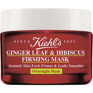 Kiehl's - Gesichtsmasken - Ginger Leaf & Hibiscus Overnight Firming Mask