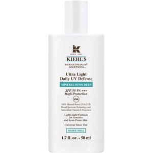 Kiehl's - Zonneproducten - Ultra Light Daily UV Defence Mineral Sunscreen SPF 50