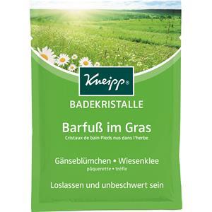 Image of Kneipp Badezusatz Badekristalle & Badesalze Badekristalle Barfuß im Gras 60 g