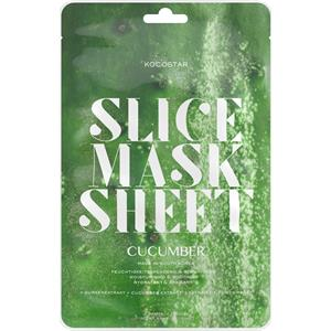 Kocostar - Masken - Cucumber Slice Mask Sheet