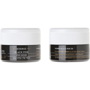 Korres - Anti-ageing - Black Pine 3D Sculpting Firming & Lifting Night Cream