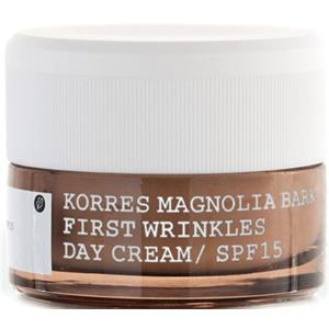 Korres - Anti-Aging - Magnlia Bark First Wrinkles Day Cream SPF 15