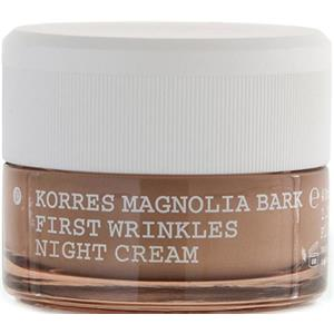 Korres - Anti-ageing - Magnolia Bark First Wrinkles Night Cream