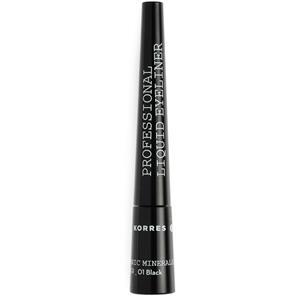 Korres - Augen - Black Volcanic Liquid Eyeliner