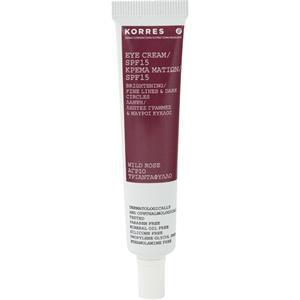 Korres - Eye care - Wild Rose Eye Cream SPF15