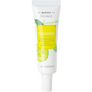 Korres - Cleansing Weekly - Cucumber Eye Mask