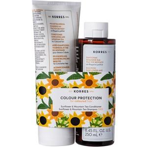 Korres - Haarpflege - Sunflower & Mountain Tea Geschenkset