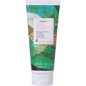 Korres - Körperpflege - Pineapple Coconut Body Milk