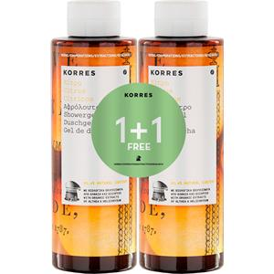 Korres - Körperpflege - Shower Gel Set - Citrus