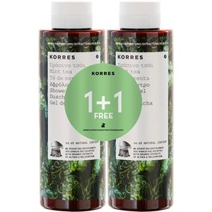 Korres - Körperpflege - Shower Gel Set - Mint Tea
