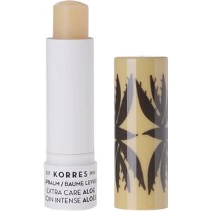 Korres - Læbepleje - Aloe Extra Care Lip Balm