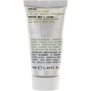 Image of Korres for Men Men Care Borage Anti-Shine Moisturiser SPF 6 50 ml
