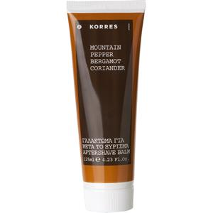 Korres - Mountain Pepper, Bergamot, Coriander - Mountain Pepper Aftershave Balm