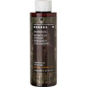 Korres - Mountain Pepper, Bergamot, Coriander - Shower Gel