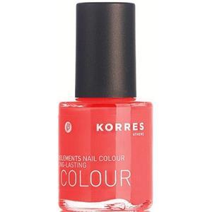 Korres Make-up Nägel Myrrh & Oligielements Nagellack Nr. 88 Midnight Blue