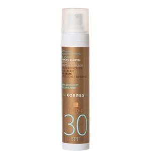 Korres - Sonnenpflege - Tinted Sunscreen Face Cream