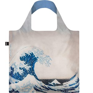 LOQI - Taschen - Katsushika Hokusai The Great Wave Recycled Bag
